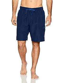 Speedo Men s Swim Trunk Knee Length Marina Volley Navy X-Large