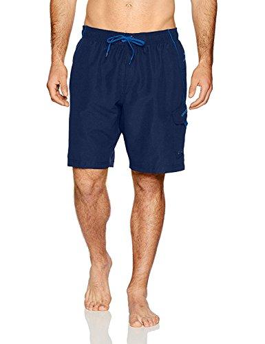 Speedo Men's Swim Trunk Knee Length Marina Volley, Navy,...
