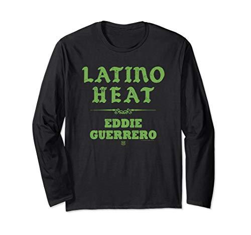 WWE Latino Heat Eddie Guerrero Fight Type Long Sleeve T-Shirt