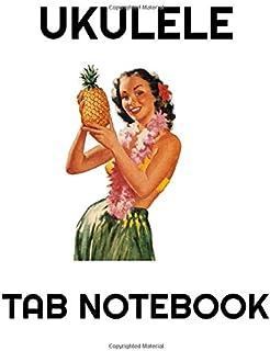 """Ukulele Tab Notebook: Blank Ukulele Tablature Notebook, 8.5""""x11"""", 100 Pages"""