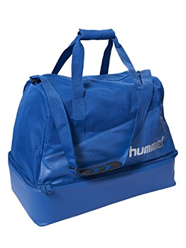 hummel Authentic Charge Soccer Bag Sporttasche, Black, 42 x 27 x 37 cm