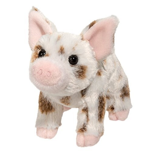Douglas Yogi Brown Spotted Pig Plush Stuffed Animal