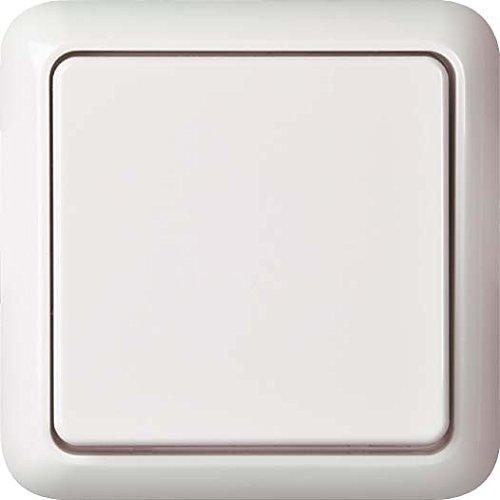 Elso Universalschalter 221604 Fashion Schalter 6 10A Steckklemmen IP44 Fab, reinweiß