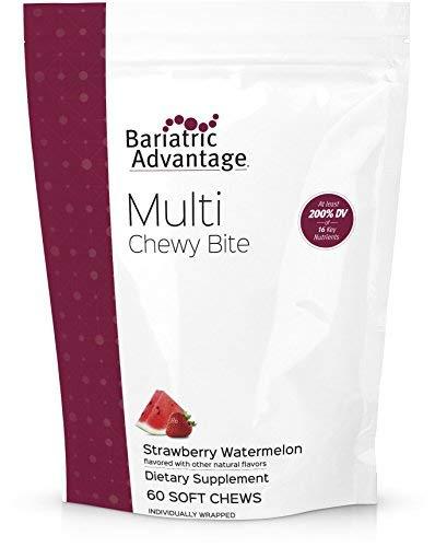 Bariatric Advantage - Multi Chewy Bite Multivitamin - Strawberry Watermelon, 60 Count