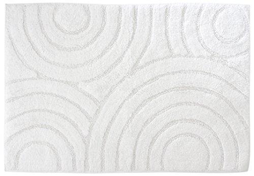 Gelco Design 711041 Tapis de Bain, Coton, Blanc, 90 x 60 cm x 0,9 cm