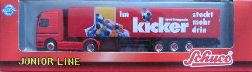 Kicker Sportmagazin Schuco MB Actros - Sattelzug - Junior Line