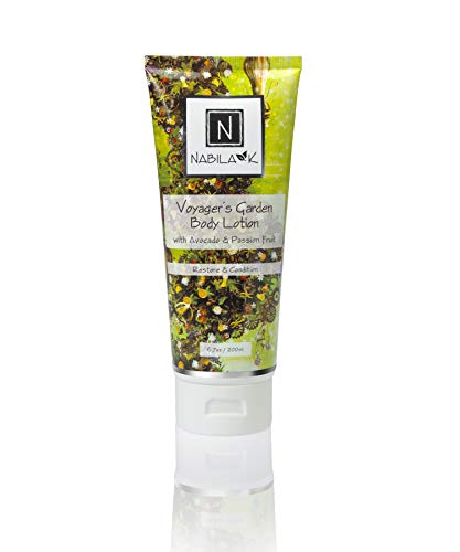 N Nabila K Voyager's Garden Body Lotion, with Avocado & Passion Fruit, Restore & Condition, 6.7 ounces