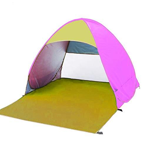 ZZWL Tienda de campaña, Camping Familiar, Playa, Pesca, Viaje, fácil de Instalar, Apto para 2 Personas