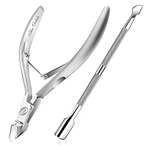 Beauty Shopping Cuticle Trimmer with Cuticle Pusher – Cuticle Remover Cuticle Nipper Professional