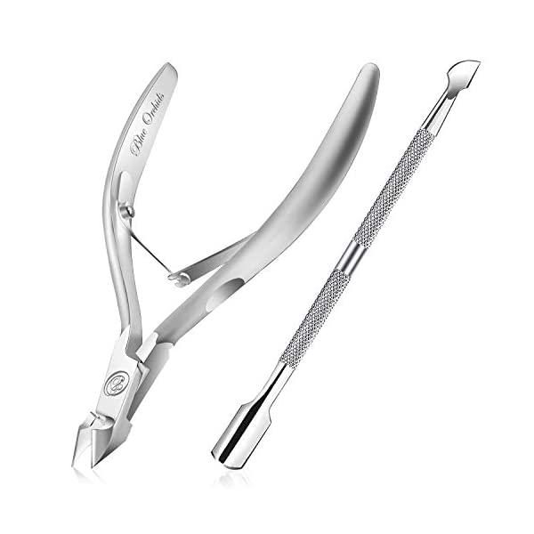 Beauty Shopping Cuticle Trimmer with Cuticle Pusher – Cuticle Remover Cuticle