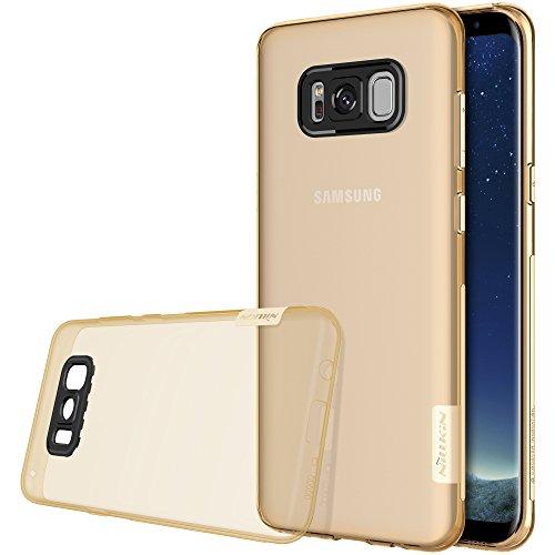 Nillkin Nature - Custodia in TPU per Samsung Galaxy S8+, Marrone