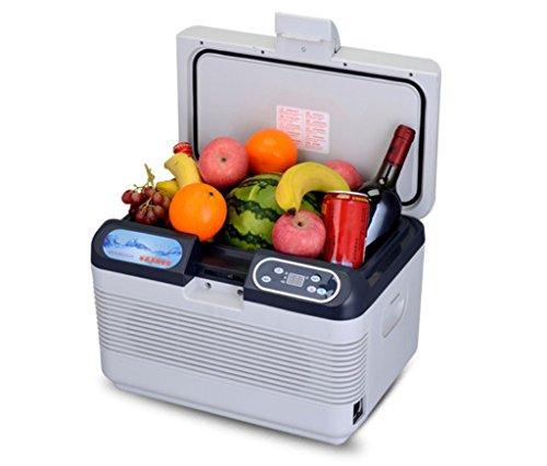 AMYMGLL Réfrigérateur de voiture/12L/mini Voiture et Maison Double Usage/Réfrigération à l'insuline, Réfrigérateur à Semi-conducteurs, économie d'énergie, Pique-Nique/Tour d'auto-Conduite d'été