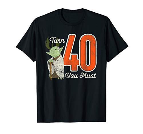 Star Wars Yoda 40th Birthday T-Shirt T-Shirt