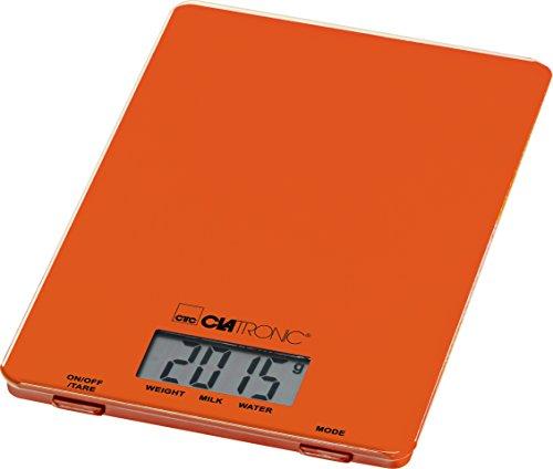 Clatronic Küchenwaage, Orange