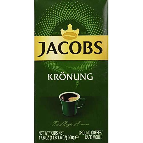 Jacobs Miscela di Caffè Macinato Kronung - 12 Pezzi da 500 g