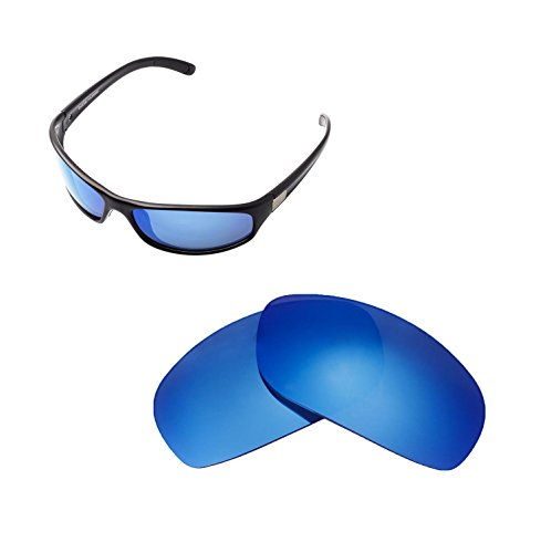 Walleva Ersatzgläser für Bolle Anaconda Sonnenbrille - Mehrfache Optionen verfügbar (Eisblau - Polarisiert)