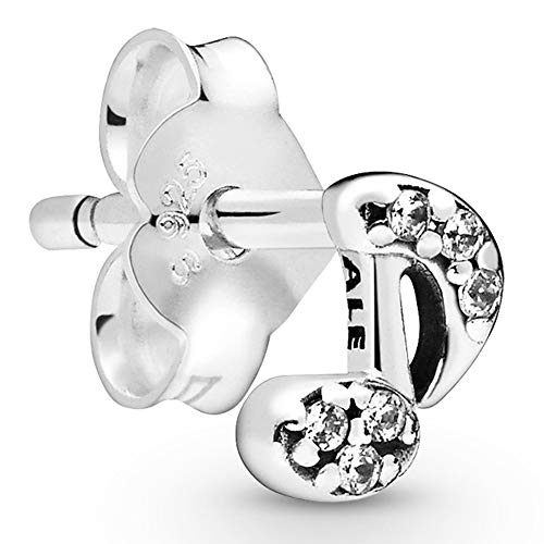 Pandora Pendientes de botón Mujer Plata esterlina No aplicable - 298366CZ
