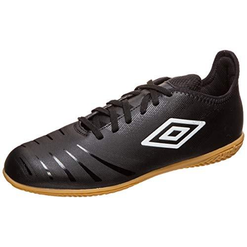 UMBRO UX Accuro III Club - Botas de fútbol para hombre, negro/blanco, 8.5 UK - 43 EU - 9.5 US
