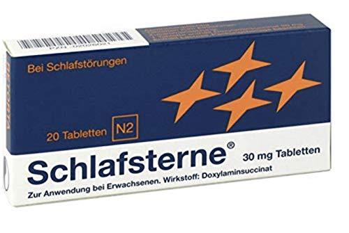 Schlafsterne Sparpackung 5 x 20 Stück inklusive Handcreme von Pharma Nature
