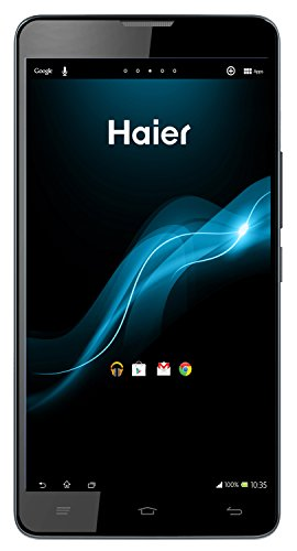 Haier W970 Smartphone, 16 GB, Nero [Italia]