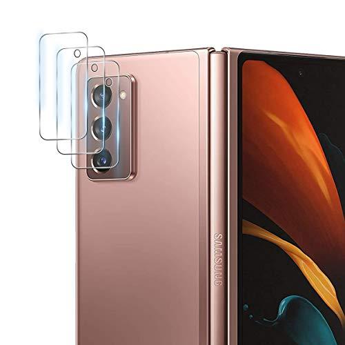 Aerku Fotocamera Posteriore Pellicola Vetro Temperato per Samsung Galaxy Z Fold 2, [Piena Copertura Vetro Flessibile] HD Camera Pellicola Protettiva Trasparenza...