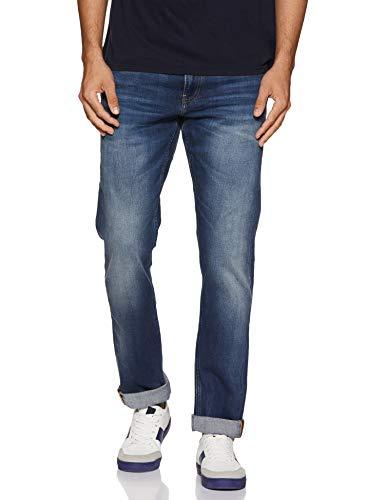 Calvin Klein Jeans Herren Ckj 026 Slim Straight Jeans, Blau (DA023 Dark Blue 1BJ), 28W / 34L
