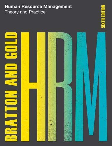 Human Resource Management, 6th edition: Theory and Practice -  Bratton, John, Paperback