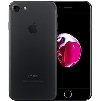 Apple iPhone 7 32gb Black Matte Liberado de Fabrica (Renewed)