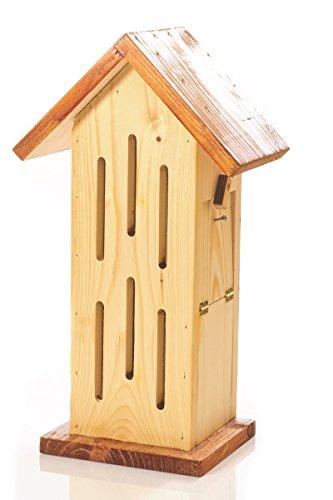 Schmetterlingshaus - natur-braun REINE HANDARBEIT
