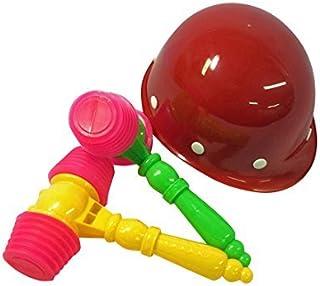 たたいて・かぶって・ジャンケンポン! (※安全ハンマーのカラーは「黄」「緑」「黄×緑」の3色の中から1色となります。カラーは選択できません。)