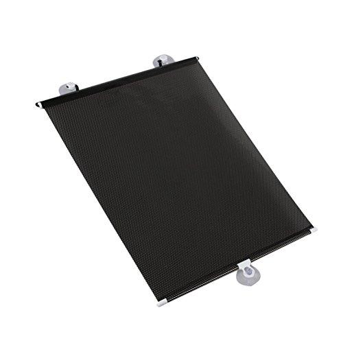 VORCOOL Parasol, 2pc Sombra del parasol para ventana del coche Sombra retráctil para las ventanas laterales Parabrisas del sol Bloqueador del sol 98% de los rayos UV nocivos