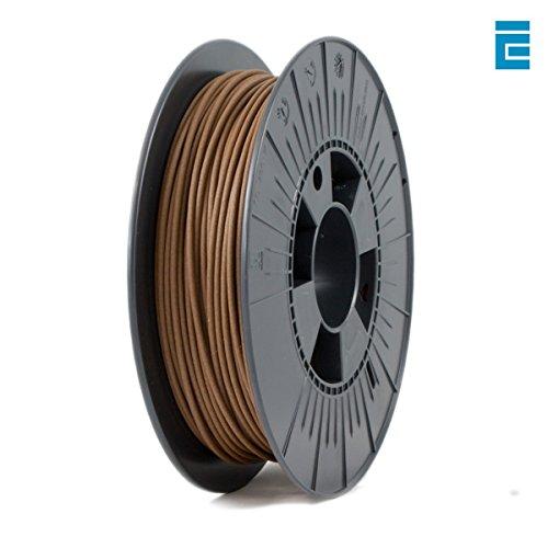 ICE Filaments ICEFIL3WOO183 WOOD filamento, 2.85mm, 0.5 kg, Barnyard Brown