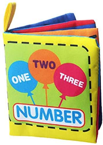 TXXM Quiet Libro Suave del bebé del paño Libro Enseñanza Juguetes for niños Juguetes for el baño Los Mejores Regalos (Color : G)