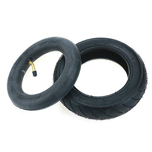 Linghuang 8 1/2 x 2 (50-134) - Juego de neumáticos para exterior y cámara de aire de goma, repuesto para patinete eléctrico de Inokims Light 1 ciclismo, piezas nuevas negras duraderas