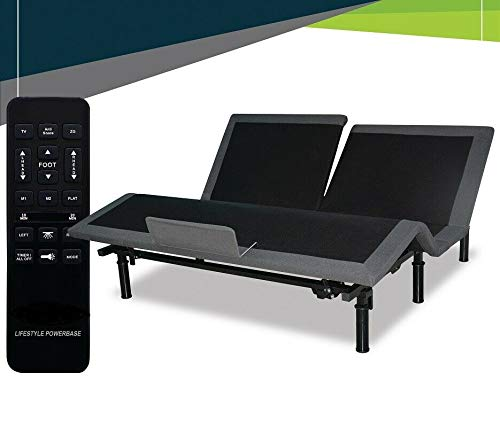 """Split TOP Queen ~ Adjustable Electric Massaging Bed with 10"""" AIR Adjustable MATTRESSES with Dual Wireless Remotes ~ Compare to Sleep Number P6"""