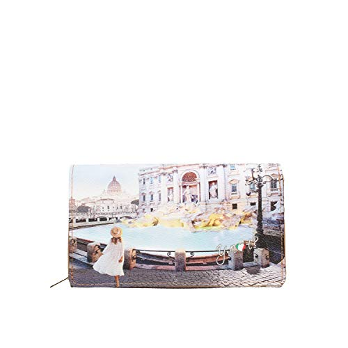 YNOT? Yes-364s1 Portafoglio Donna Roma Trevi TU