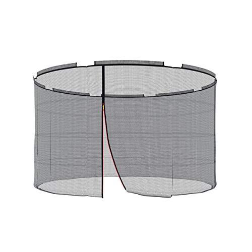 Ampel 24 Ersatz Sicherheitsnetz für Trampolin mit Sicherheitsring Ø 305 cm, Ersatznetz für 8 Stangen, Netz außenliegend, reißfest, UV-beständig