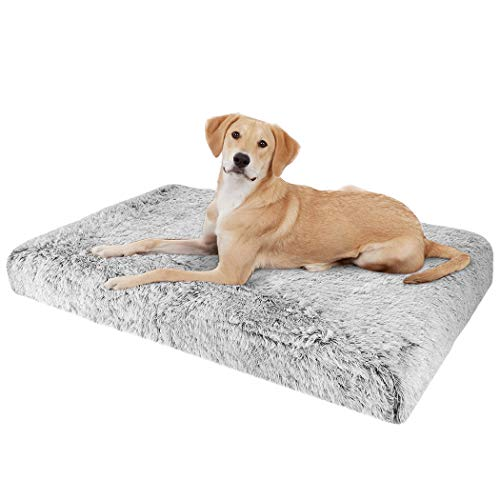 BingoPaw Cama Perro de Espuma Viscoelástica Colchón Ortopédico Impermeable y Lavable para Perros Cama Sofá Suave...