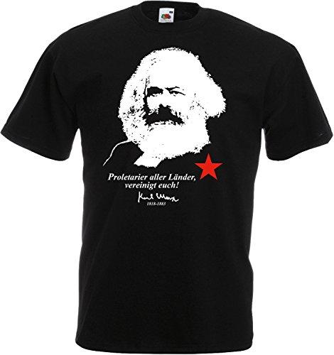 Karl Marx Proletarier Aller Länder, vereinigt euch! T-Shirt