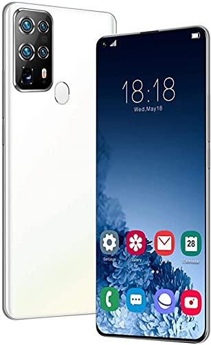 WWJ Rugged Smartphone, Android 10 4G Mobile Phones, 6GB + 128GB Dual SIM Phone com 5800mAh bateria, Face ID, impressão Digital destravada com fones de ouvido, 128g Memory Card, Protective SH