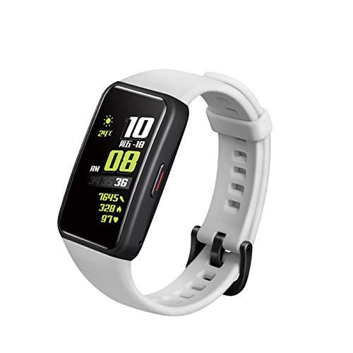 JAMAN Correa de repuesto compatible con Honor 6, correa de silicona suave, accesorios de reloj inteligente, tamaño ajustable correa de liberación rápida
