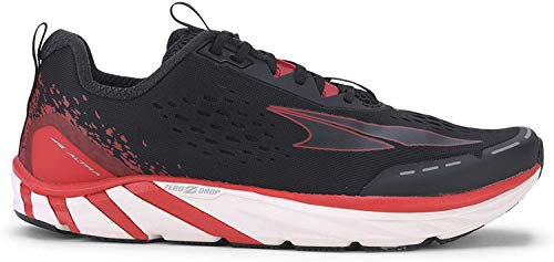 ALTRA Men's Torin 4 Road Running Shoe, Black/Red - 9.5 M US