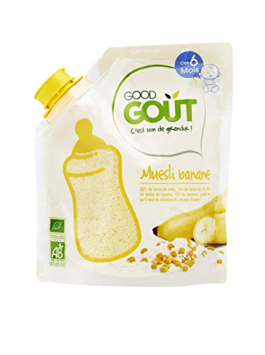 Good Goût - BIO - Céréales Muesli Banane 200 g dès 6 Mois