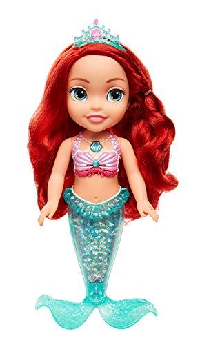 Muñeca Princesa Disney - Ariel luces y purpurina , color/modelo surtido