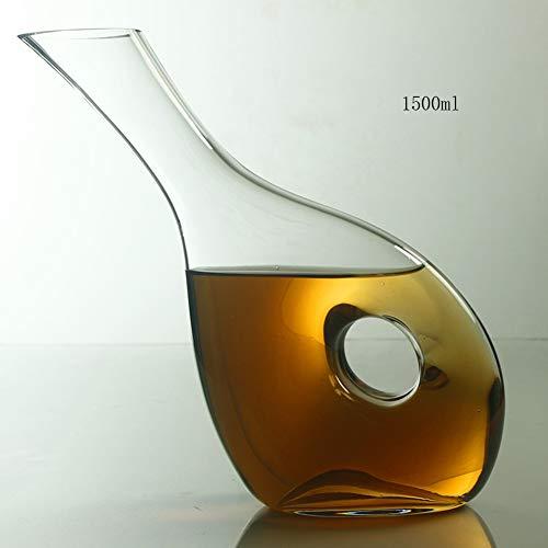 YHCS Mixer Kristall Glas Weckmaschine, europäischen Wein Wein Wein Teiler, Hohle Topf Schnecke Wein Topf Wein Wein Wein