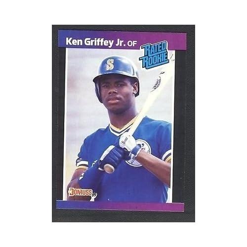 Ken Griffey Jr Card Amazoncom