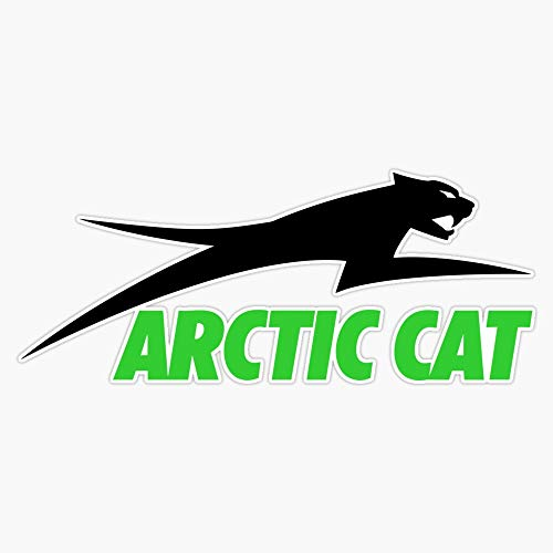 Leyland Designs Best to Buy - Arctic Cat Company Logo Sticker Outdoor Rated Vinyl Sticker Decal for Windows, Bumpers, Laptops or Crafts 5'