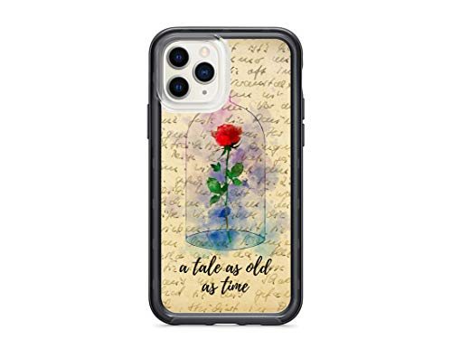 Kaidan iPhone 12 Case XR X XS 11 Pro Max 8 7 Plus Enchanted Rose 5 5S 6S 6 Beauty and The Beast SE 2020 Samsung Galaxy Note 10 + 9 8 S10 S20 S10e Tale as Old as Time S9 S8 Google Pixel 3 XL 2 appd622