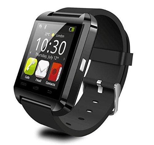 U8Blutooth sistema Smartwatch per Android telefoni cellulari e funzioni limitate per ISO (nero)