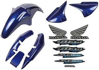 Kit Carenagem Cg 150 Es Titan 2006 Es 06 Azul C - Adesivo